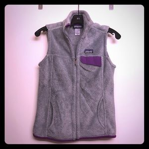 Like New Patagonia Re-Tool Fleece vest size XS